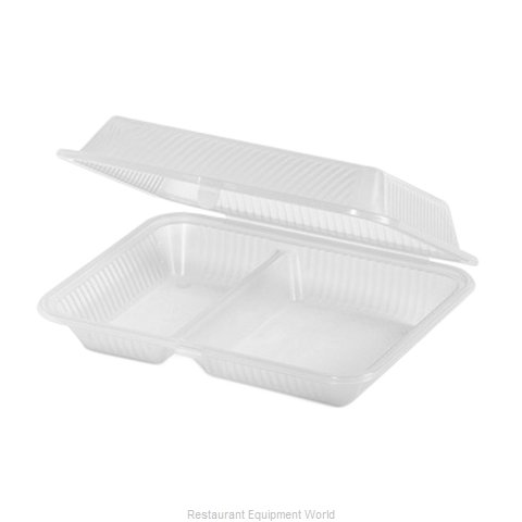 GET Enterprises EC-15-1-CL Carry Take Out Container Plastic