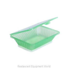 GET Enterprises EC-18-JA Carry Take Out Container, Plastic