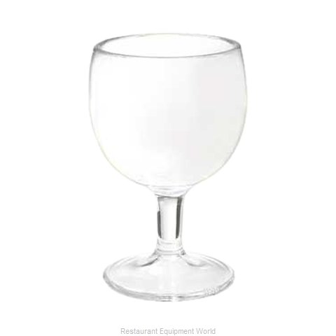 GET Enterprises GOB-12-1-SAN-CL Glassware Plastic (Magnified)