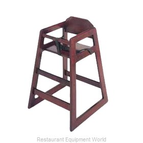 GET Enterprises HC-100-M-2 High Chair, Wood
