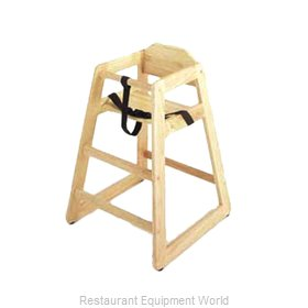 GET Enterprises HC-100-N-2 High Chair, Wood