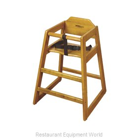 GET Enterprises HC-100-W-1 High Chair, Wood