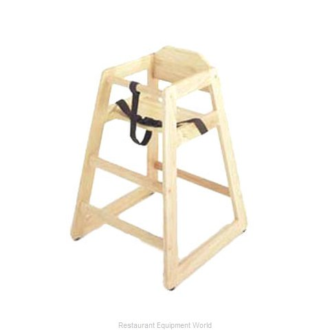 GET Enterprises HC-100N-1 High Chair Wood