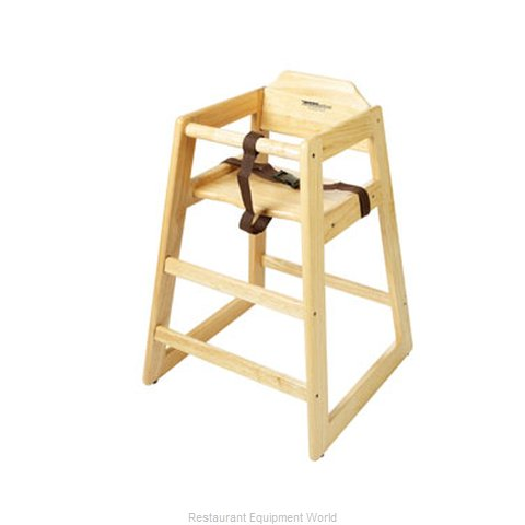 GET Enterprises HC-100N-P High Chair Wood