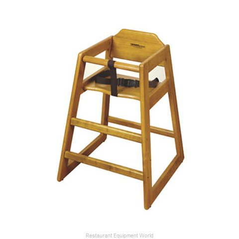 GET Enterprises HC-100W-2 High Chair Wood (Magnified)