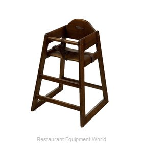 GET Enterprises HC-101C-P High Chair, Wood