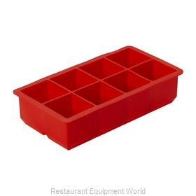 GET Enterprises ICE-SQ8-R Ice Cube Tray
