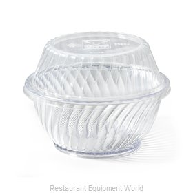 GET Enterprises LID-55601-CL Disposable Container Cover / Lid