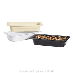 GET Enterprises ML-18-BK Food Pan, Plastic