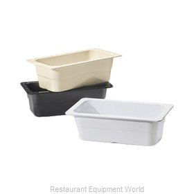 GET Enterprises ML-20-BK Food Pan, Plastic