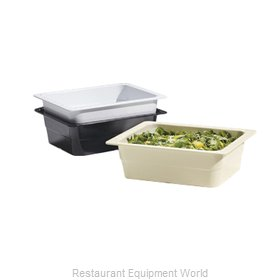 GET Enterprises ML-21-BK Food Pan, Plastic