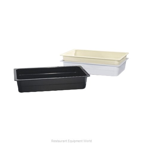 GET Enterprises ML-22-BK Food Pan Plastic
