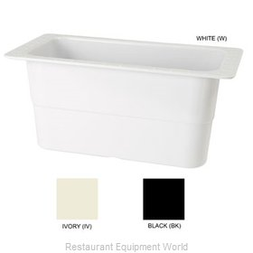 GET Enterprises ML-23-BK Food Pan, Plastic