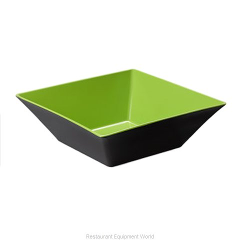 GET Enterprises ML-249-G/BK Serving Bowl, Plastic