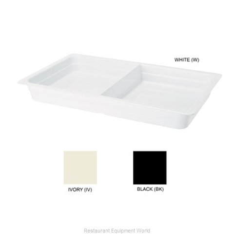 GET Enterprises ML-26-IV Food Pan Plastic