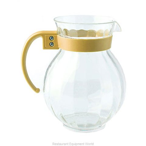 GET Enterprises P-4091-PC-TY Pitcher Plastic