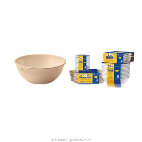 GET Enterprises SP-DN-317-T Nappie Oatmeal Bowl, Plastic