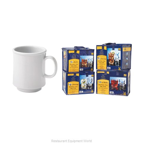 GET Enterprises SP-TM-1308-W Mug, Plastic