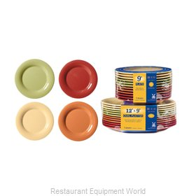 GET Enterprises SP-WP-5-COMBO Plate, Plastic