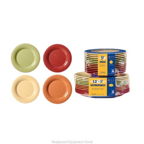 GET Enterprises SP-WP-7-COMBO Plate, Plastic