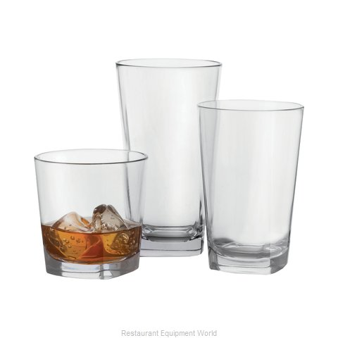 GET Enterprises SW-1470-CL Glassware, Plastic