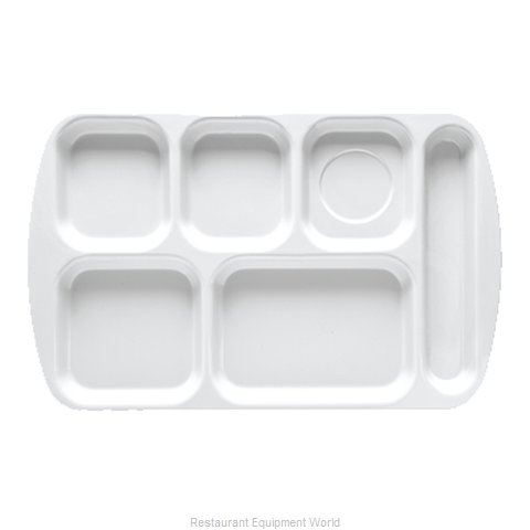 GET Enterprises TR-151-S Tray, Compartment, Plastic (Magnified)