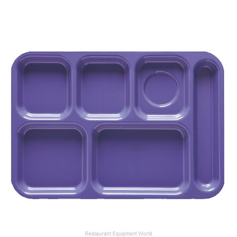GET Enterprises TR-152-TY Tray, Compartment, Plastic