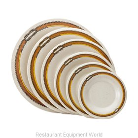 G.E.T. Enterprises WP-6-RD Rodeo Line Melamine Dinnerware