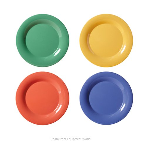 GET Enterprises WP-9-MIX Plate, Plastic