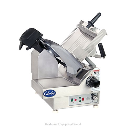 Globe 4975N Premium Heavy-Duty Automatic Slicer (Magnified)