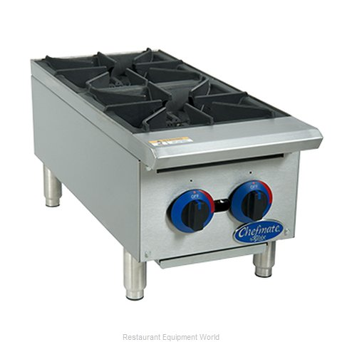 Globe C12HT Hotplate, Countertop, Gas