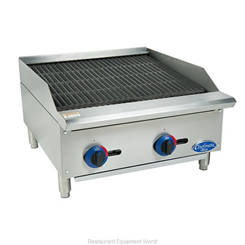 Globe C24CB-SR Charbroiler Hotplate Gas Counter Model