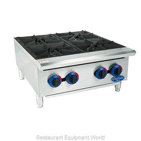 Globe C24HT Hotplate, Countertop, Gas