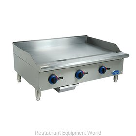 Globe C36GG Griddle, Gas, Countertop