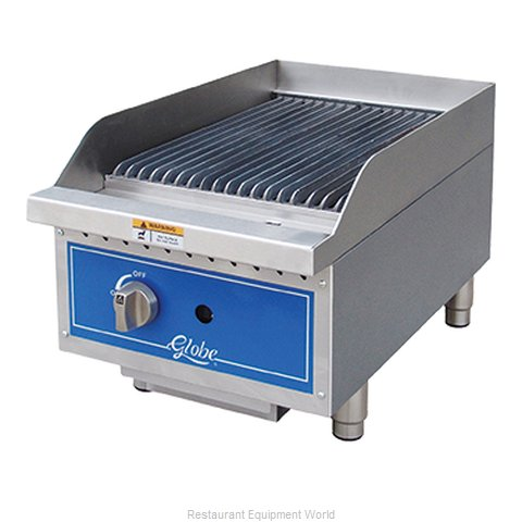 Globe GCB15G-CR Charbroiler Gas Counter Model