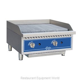 Globe GCB24G-RK Charbroiler Gas Counter Model