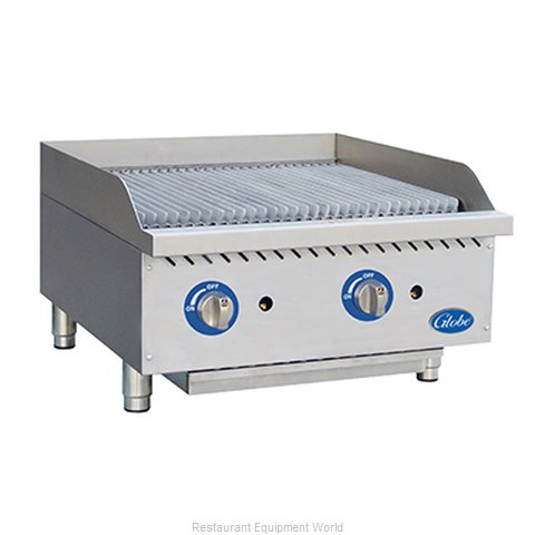 Globe GCB24G-SR Charbroiler, Gas, Countertop (Magnified)