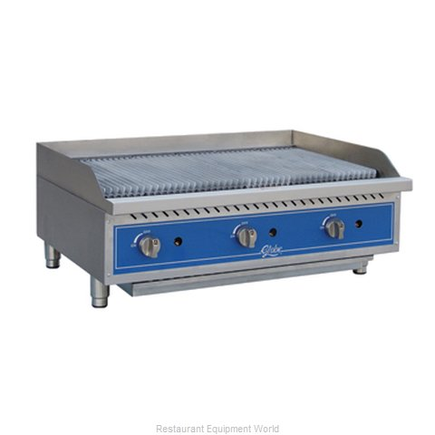 Globe GCB36G-RK Charbroiler, Gas, Countertop (Magnified)