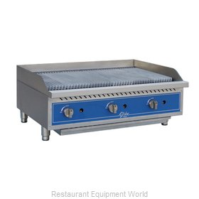 Globe GCB36G-RK Charbroiler Gas Counter Model