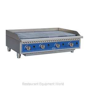 Globe GCB48G-RK Charbroiler Gas Counter Model