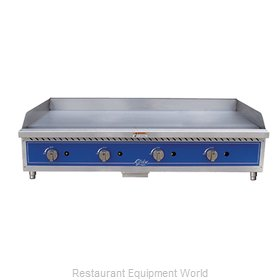 Globe GG48G Griddle Counter Unit Gas