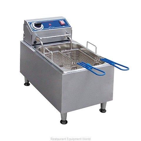 Globe PF10E Fryer, Electric, Countertop, Full Pot