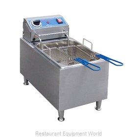 Globe PF16E Fryer, Electric, Countertop, Full Pot