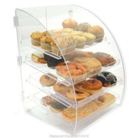 Goldleaf Plastics BDT4EURO Acrylic Display Case (Magnified)
