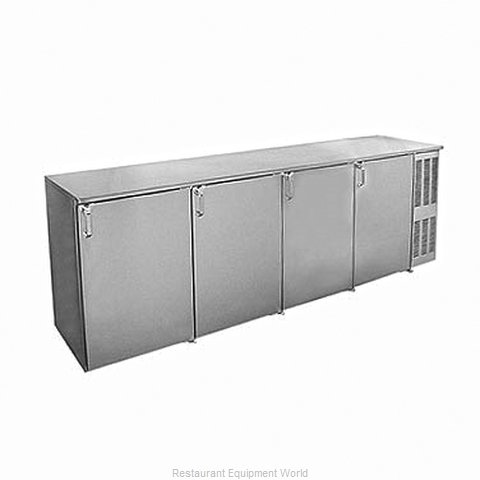 Glastender BB108BR Back Bar Cabinet, Refrigerated