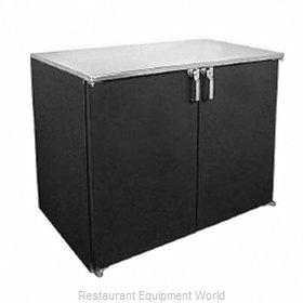 Glastender BB48-N Back Bar Cabinet, Refrigerated