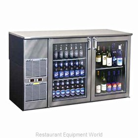 Glastender BB60BR Backbar Cabinet Refrigerated