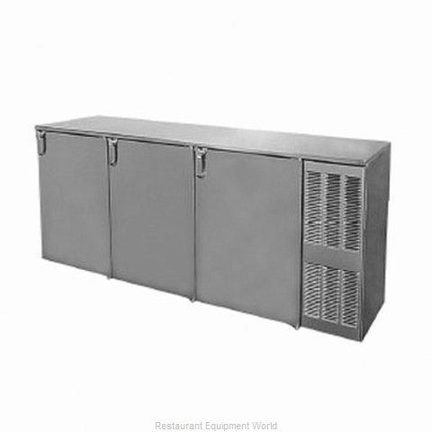 Glastender BB84BW Backbar Cabinet Refrigerated (Magnified)