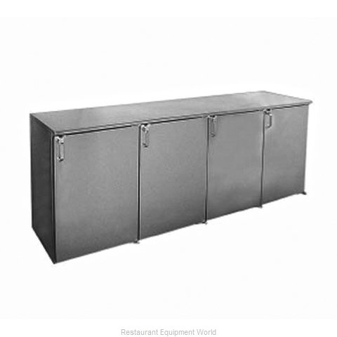 Glastender BB96-N Backbar Cabinet Refrigerated