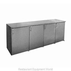 Glastender BB96-N Back Bar Cabinet, Refrigerated